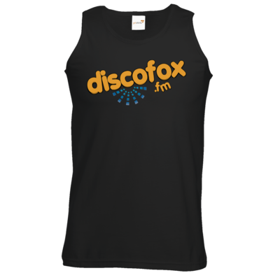 Motiv: Athletic Vest - Discofox FM - Logo XL
