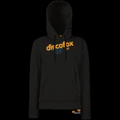 Motiv: Hoodie Damen Classic - Discofox FM - Logo XL