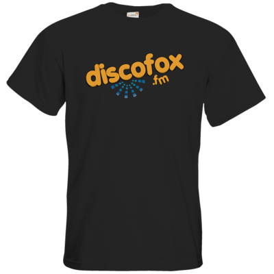 Motiv: T-Shirt Premium FAIR WEAR - Discofox FM - Logo XL