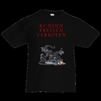 Motiv: Kids T-Shirt Premium FAIR WEAR - Ulisses - Kunden fressen verboten