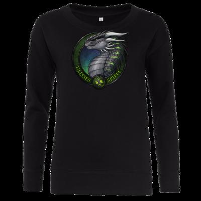 Motiv: Girlie Crew Sweatshirt - Ulisses - Logo Ulisses-Spiele