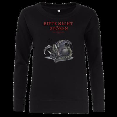 Motiv: Girlie Crew Sweatshirt - Ulisses - Bitte nicht stören