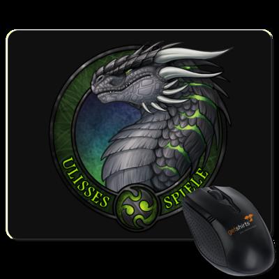 Motiv: Mousepad Textil - Ulisses - Logo Ulisses-Spiele