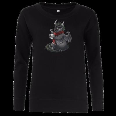 Motiv: Girlie Crew Sweatshirt - Ulisses - Chibi - Weihnachtsmotiv 1