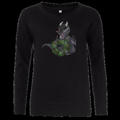 Motiv: Girlie Crew Sweatshirt - Ulisses - Chibi - Weihnachtsmotiv 2