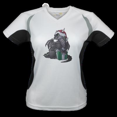 Motiv: Laufshirt Lady Running T - Ulisses - Chibi - Weihnachtsmotiv 3