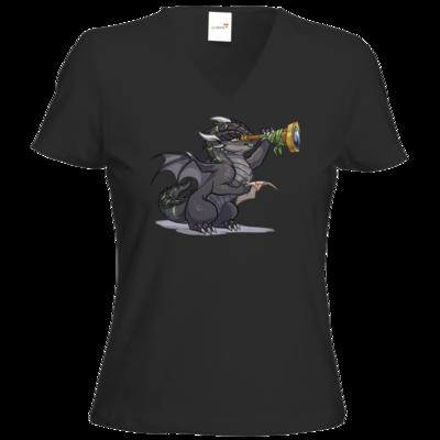 Motiv: T-Shirts Damen V-Neck FAIR WEAR - Ulisses - Chibi - Teaser