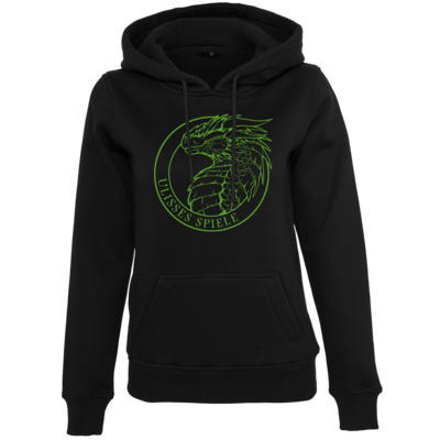 Motiv: Womens Heavy Hoody - Ulisses - Logo Outline