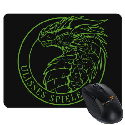 Motiv: Mousepad Textil - Ulisses - Logo Outline