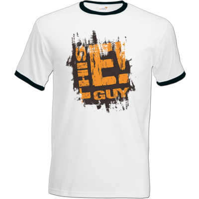 Motiv: T-Shirt Ringer - thisEguy - Tasse rippled