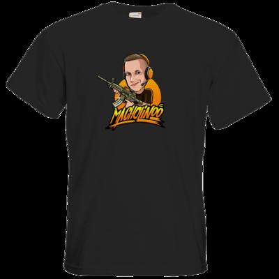 Motiv: T-Shirt Premium FAIR WEAR - Macho - Shots Fired