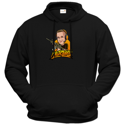Motiv: Hoodie Premium FAIR WEAR - Macho - Shots Fired
