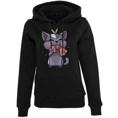Motiv: Womens Heavy Hoody - Melonberry