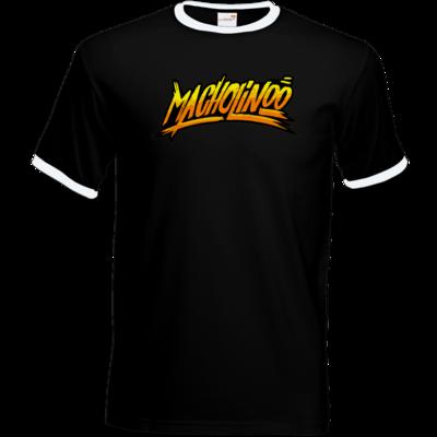 Motiv: T-Shirt Ringer - Macho - Tag