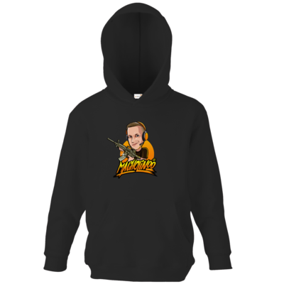 Motiv: Kids Hooded Sweat - Macho - Shots Fired