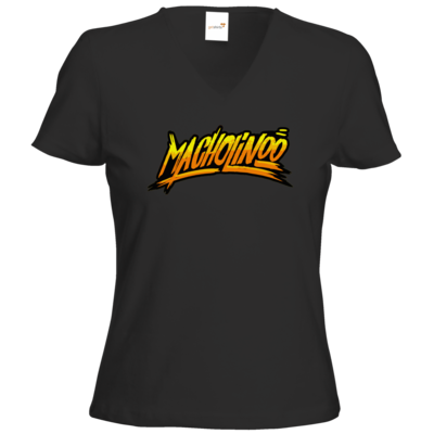 Motiv: T-Shirts Damen V-Neck FAIR WEAR - Macho - Tag