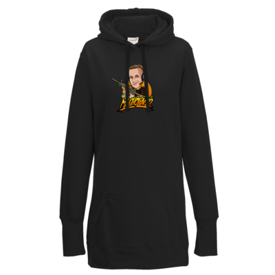 Motiv: Lady Longline Hoodie - Macho - Shots Fired