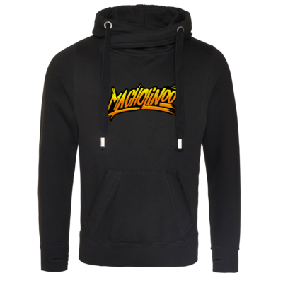 Motiv: Cross Neck Hoodie - Macho - Tag