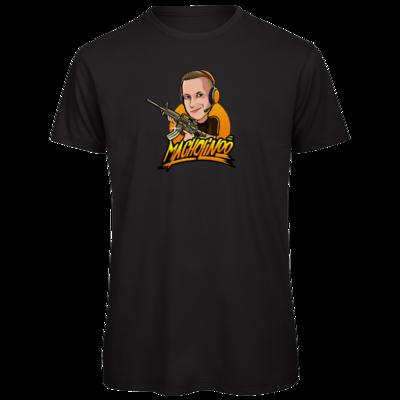 Motiv: Organic T-Shirt - Macho - Shots Fired
