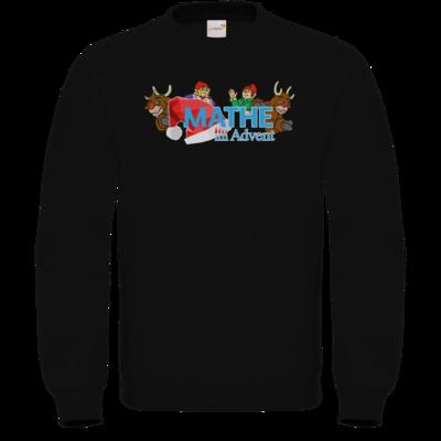Motiv: Sweatshirt FAIR WEAR - Logo mit Wichteln und Rentieren
