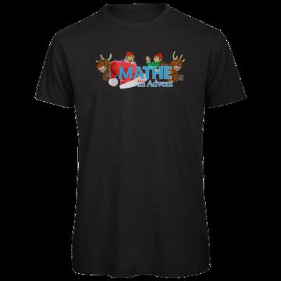 Motiv: Organic T-Shirt - Logo mit Wichteln und Rentieren