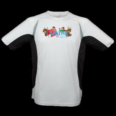 Motiv: Laufshirt Running T - Logo mit Wichteln und Rentieren