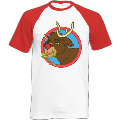 Motiv: Baseball-T FAIR WEAR - Rudolph