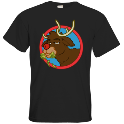 Motiv: T-Shirt Premium FAIR WEAR - Rudolph