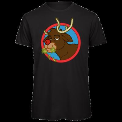Motiv: Organic T-Shirt - Rudolph