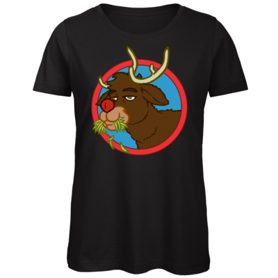 Motiv: Organic Lady T-Shirt - Rudolph