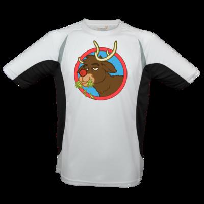 Motiv: Laufshirt Running T - Rudolph