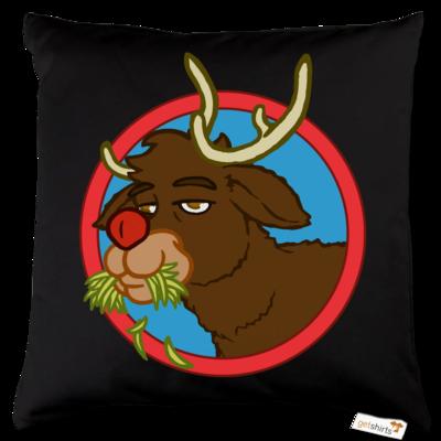 Motiv: Kissen Baumwolle - Rudolph