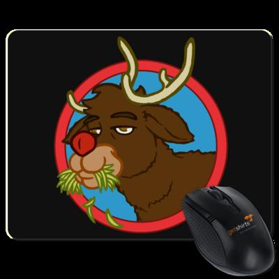 Motiv: Mousepad Textil - Rudolph