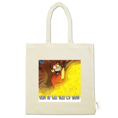 Motiv: Baumwolltasche - LootBoy - Shut up and take my Loot