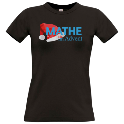 Motiv: T-Shirt Damen Premium FAIR WEAR - Mathe im Advent Logo