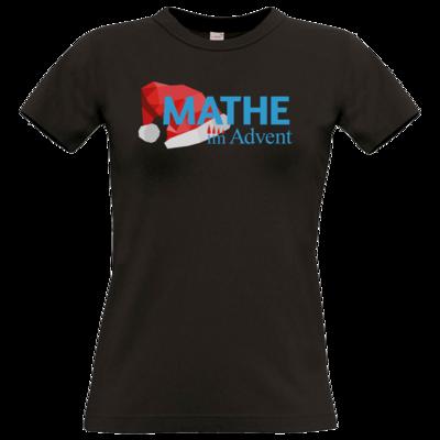 Motiv: T-Shirt Damen Premium FAIR WEAR - Mathe im Advent Logo
