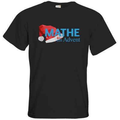 Motiv: T-Shirt Premium FAIR WEAR - Mathe im Advent Logo