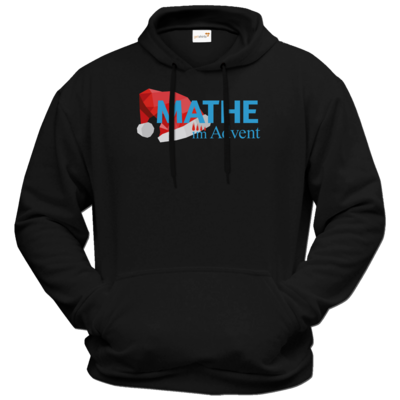 Motiv: Hoodie Premium FAIR WEAR - Mathe im Advent Logo