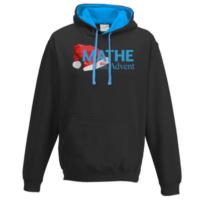 Motiv: Two-Tone Hoodie - Mathe im Advent Logo