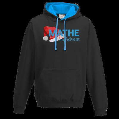 Motiv: Two-Tone Hoodie - Mathe im Advent Logo