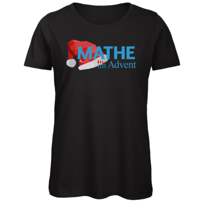 Motiv: Organic Lady T-Shirt - Mathe im Advent Logo