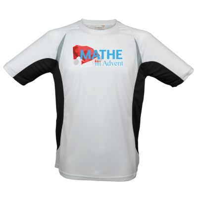 Motiv: Laufshirt Running T - Mathe im Advent Logo