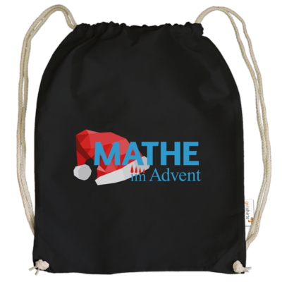 Motiv: Cotton Gymsac - Mathe im Advent Logo
