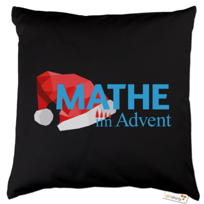 Motiv: Kissen Baumwolle - Mathe im Advent Logo