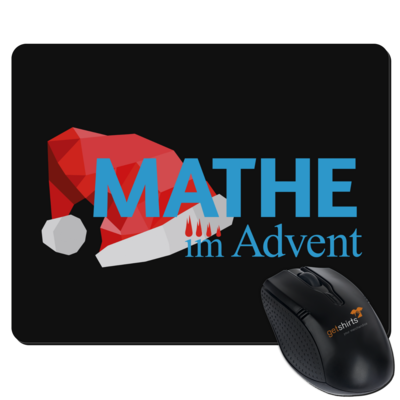 Motiv: Mousepad Textil - Mathe im Advent Logo