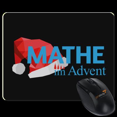 Motiv: Mousepad Textil - Mathe im Advent Logo