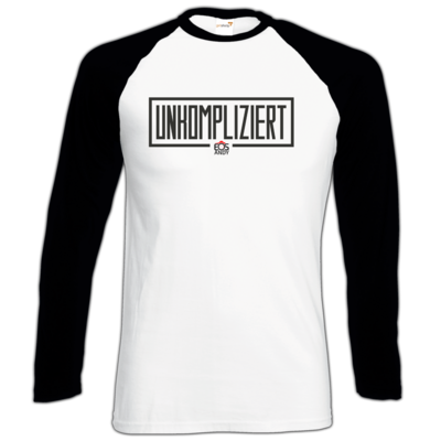 Motiv: Longsleeve Baseball T - unkompliziert eosandy shirt