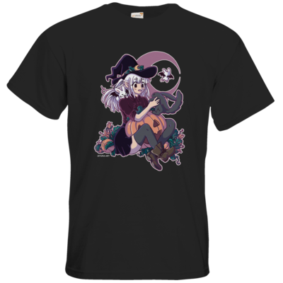 Motiv: T-Shirt Premium FAIR WEAR - Bat Witch Ayumi