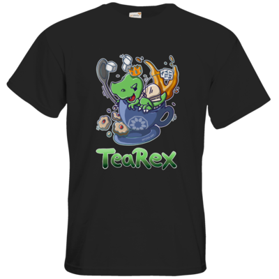 Motiv: T-Shirt Premium FAIR WEAR - Tea Rex