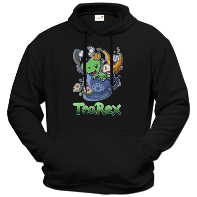 Motiv: Hoodie Premium FAIR WEAR - Tea Rex